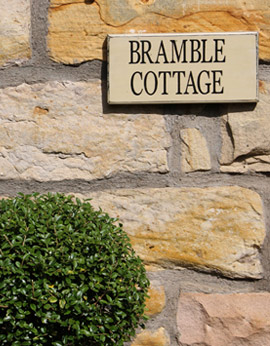 Outside of Bramble Cottage